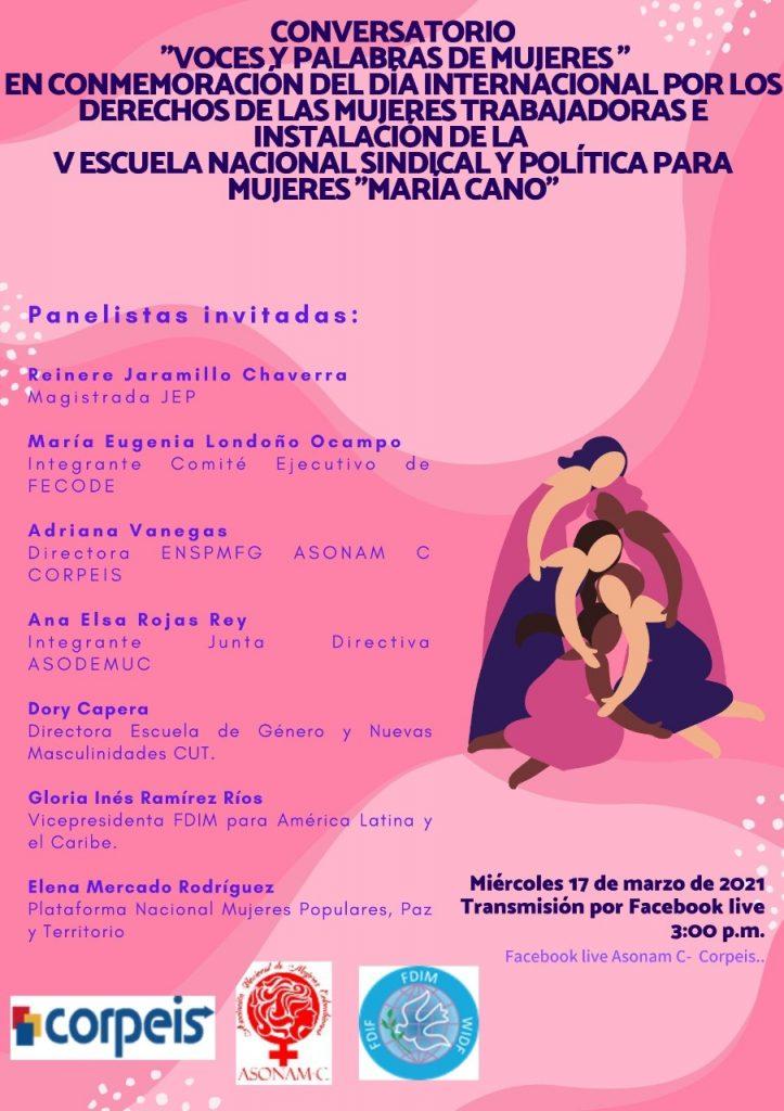 """Conversatorio: """"Voces y Palabras de Mujeres"""""""